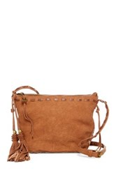 Steve Madden Camille Faux Leather Crossbody Brown
