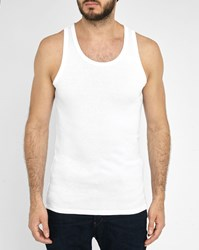 G Star 2 Pack White Base Layer Tank Top
