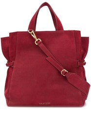 Orciani Long Beach Tote Red