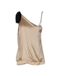 Cristinaeffe Collection Topwear Tops Women Beige