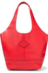 Rag And Bone Woman Camden Leather Tote Red