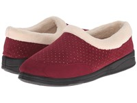 Foamtreads Keira Burgundy Women's Slippers