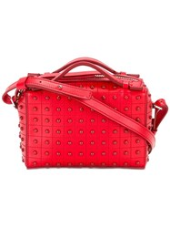 Tod's Studded Crossbody Bag Red