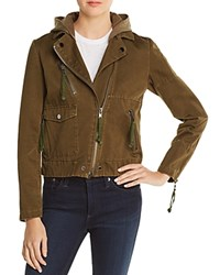 Doma Appliqued Army Jacket Army Green