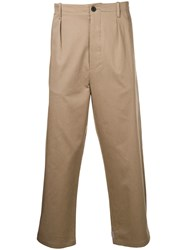 Les Hommes Classic Chinos Neutrals