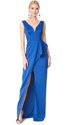Black Halo Hendricks Gown Cobalt