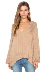 Sam And Lavi Olivia Top Beige