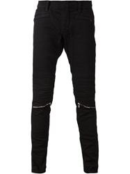 John Richmond Zipped Knees Skinny Trousers