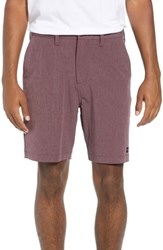 Billabong Crossfire X Mid Length Shorts Fig Heather