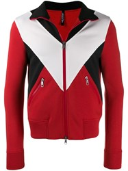 Neil Barrett Zip Up Sweatshirt Red