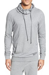 Men's Boss Cotton Cowl Neck Sweatshirt