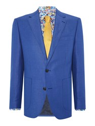 New And Lingwood Okehampton Sb2 Notch Lapel Blazer Blue