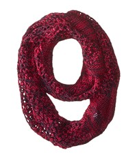 The North Face Knitting Club Scarf Dramatic Plum Scarves Pink