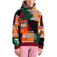 Martine Rose Graphic Cotton Terry Hoodie Multi