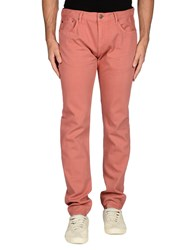Burberry Brit Denim Denim Trousers Men Pastel Pink