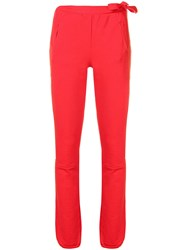 Humanoid Track Trousers Red