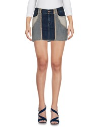 Richmond Denim Denim Skirts Blue