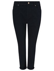 Dash Navy Crop Trouser