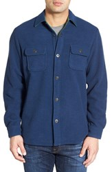 Men's Tommy Bahama 'Twill Murray' Island Modern Fit Shirt Jacket