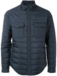 Kent And Curwen Thermal Shirt Jacket Black