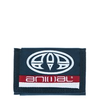 Animal 3 Leaf Wallet Indigo