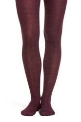 Smartwool Cable Knit Tights Purple