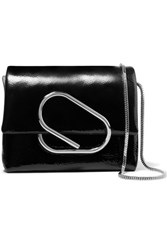 3.1 Phillip Lim Alix Micro Patent Leather Shoulder Bag Black