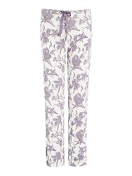 Linea Sunset Floral Relaxed Jersey Pant Multi Coloured