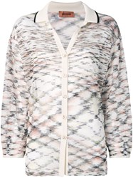 Missoni Melange Knitted Shirt Neutrals