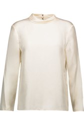 Rag And Bone Audrey Silk Top Off White