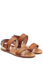 Red Valentino R.E.D. Studded Leather Sandals