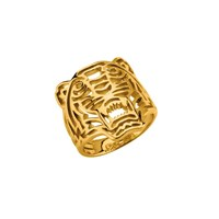 Kenzo 17522010005 Gold Plated Ring Gold Metallic