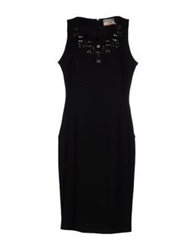 Gattinoni 3 4 Length Dresses Black