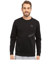 Puma Evo Zip Crew Black Men's Long Sleeve Pullover