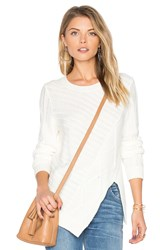 Bcbgeneration Cable Pullover White