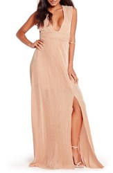 Missguided Women's Plunge Maxi Dress