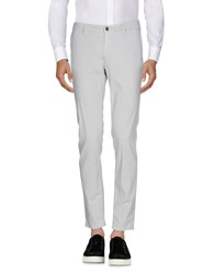 Maison Clochard Casual Pants Light Grey