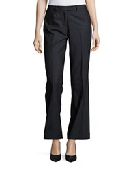 Eliza J Straight Leg Dress Pants Indigo