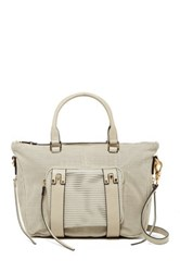 She Lo Next Chapter Leather Satchel Gray