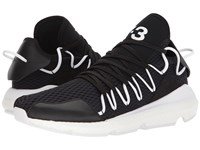 Yohji Yamamoto Kusari Core Black Core White Core White Athletic Shoes
