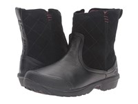 The North Face Thermoball Utility Metro Shorty Tnf Black Deep Garnet Red Women's Pull On Boots