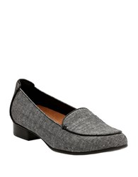Clarks Keesha Luca Textile Loafers Black