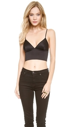 Clover Canyon Scuba Bra Top Black