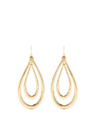 Aurelie Bidermann Alcazar Gold Plated Earrings Yellow Gold