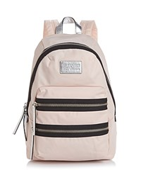 Marc By Marc Jacobs Backpack Domo Arigato Packrat Colorblock Pearl Blush Multi