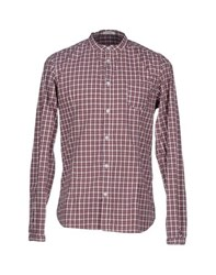 Officina 36 Shirts Shirts Men Red