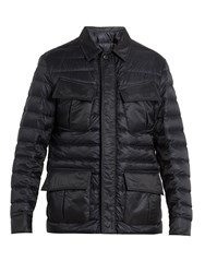 Moncler Dereck Quilted Down Jacket Navy