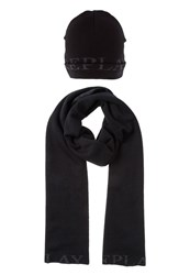 Replay Set Scarf Black