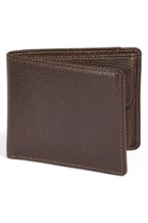 Boconi Tyler Rfid Protected Wallet Brown