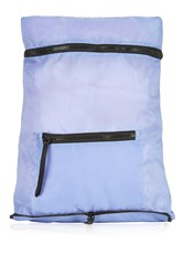 Topshop Foldaway Backpack Light Blue